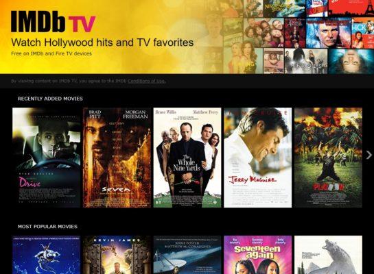 IMDB TV Filme