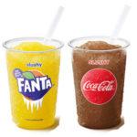 GRATIS McDonalds Slushy (Coca Cola oder Fanta)
