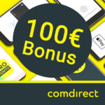 100€ Bonus für kostenloses comdirect Girokonto
