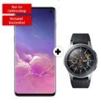 *Knaller* Samsung Galaxy S10-Kracher mit Allnet-Flat + 6GB LTE ab mtl. 26,99€ + GRATIS: Galaxy Watch LTE mit 111€ Ersparnis + Tarif eff. GRATIS! (Vodafone-Netz)