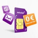 GRATIS: 500MB LTE Internet dauerhaft kostenlos bei netzclub - keine weiteren Kosten!