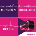 GRATIS von Berlin nach München mit dem neuen Fernbusanbieter Pinkbus