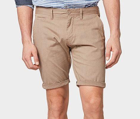 Bermuda Shorts Tom Tailor beige