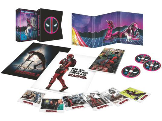 Deadpool Blu Ray Box