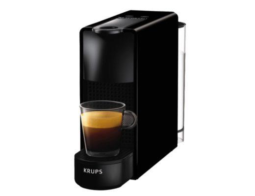 KRUPS XN1108 Nespresso Essenza Mini Kapselmaschine, Schwarz