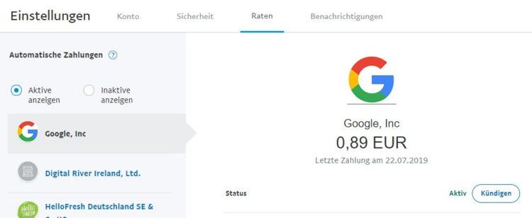 PayPal__Einstellungen_Google_kuendigen
