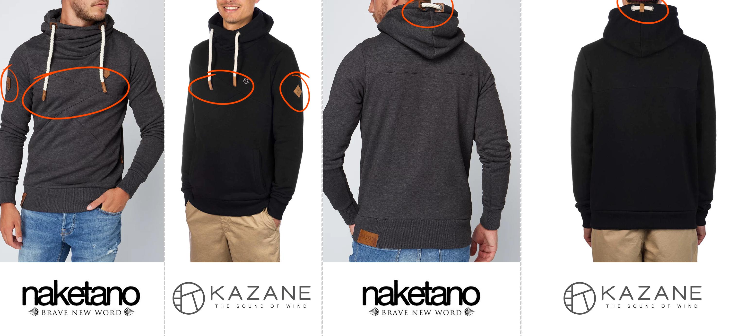 Naketano Kopie? Neue Marke