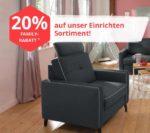 Günstige Möbel: 20% Rabatt & gratis Lieferung (ab 50€ MBW) auf ALLES bei yourhome (Sessel, Philips Hue, u.v.m.)