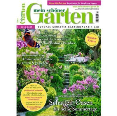 Jahresabo Mein schöner Garten für 48€ + 30€ Verrechnungsscheck oder ...