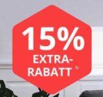 Günstige Möbel: 15% Rabatt & gratis Lieferung (ab 50€ MBW) auf ALLES bei yourhome (Sessel, Philips Hue, u.v.m.)