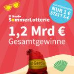 Lottohelden: El Gordo SommerLotterie - Lose ab 1€ mit 1,2 Mrd. € Gesamtgewinn (Bestandskunden ab 3€ / Neukunden ab 1€)
