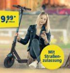 E-Scooter zur LTE Allnet-Flat: Lohnt sich der 1&1 Handytarif-Deal? (5GB/10GB/15GB LTE ab 34,98€/Monat - o2-Netz)