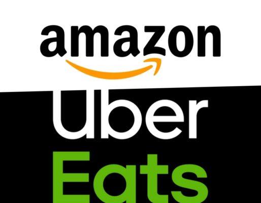 Amazon Uber Eats
