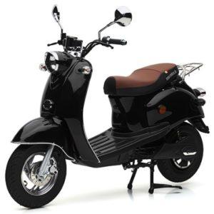 Nova Motors Motorroller eRetro Star 45 km:h Schwarz Titelbild