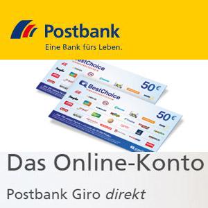 Postbank-100€-Gutschein