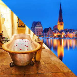 Rostock-Badewanne