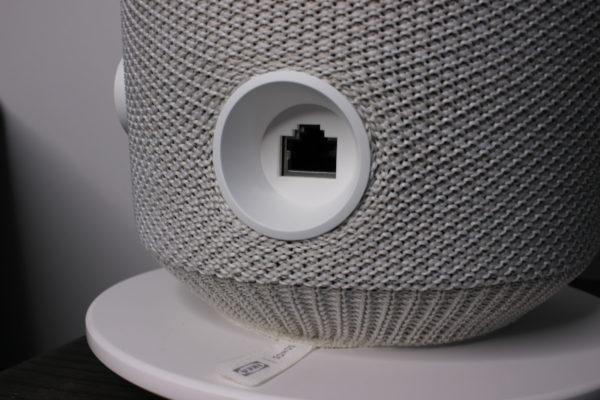 SONOS IKEA SYMFONISK Tischlampe Anschlüsse