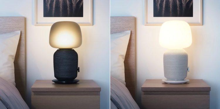 SONOS IKEA SYMFONISK Tischleuchte Farben