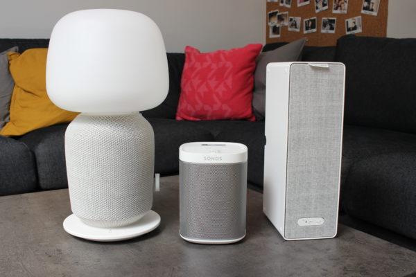 SONOS IKEA SYMFONISK und SONOS Play1