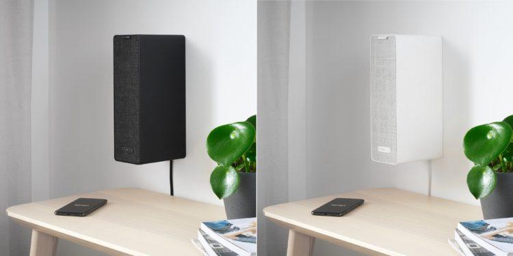 SONOS SYMFONISK Regal-WiFi-Speaker schwarz und weiß