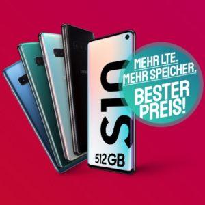Samsung Galaxy S10 512 GB Green LTE