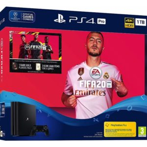 Sony PlayStation 4 (PS4) Pro 1TB + FIFA 20 Ultimate Team