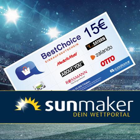 Sunmaker Gutschein