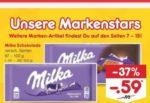 (Netto MD) 5 Tafeln Milka Schokolade für je 0,49€ dank Netto MD App und Angebot