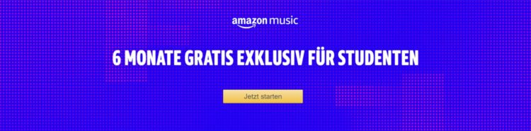 Amazon.de_ Amazon Music Unlimited für Studenten