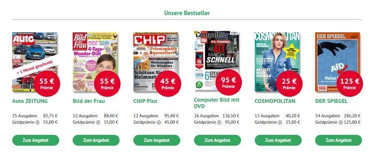 Bestseller bei kiosk.news