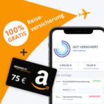 CLARK: GRATIS Reiseversicherung + 75€ BestChoice-/Amazon.de Gutschein