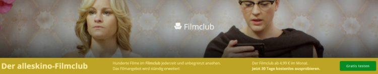 Filmclub - alleskino.de