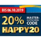 Happy-20-Gutschein