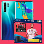 Huawei P30 Pro 128GB LTE Black Sony PlayStation 4 Pro 1 TB Festplatte + Fifa 20 Telekom Magenta Mobil M Titelbild