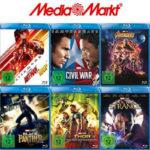 MediaMarkt: Nimm 3 Zahl 2 Marvel Aktion – Auswahl aus über 100 Titeln (Blu-ray & DVD)