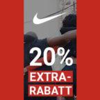 Nike 20 Prozent