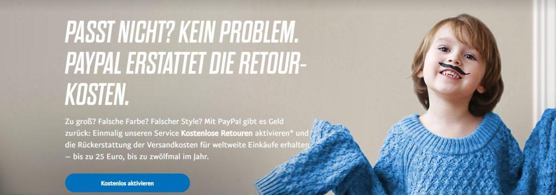 PayPal Retour - Geld zurueck