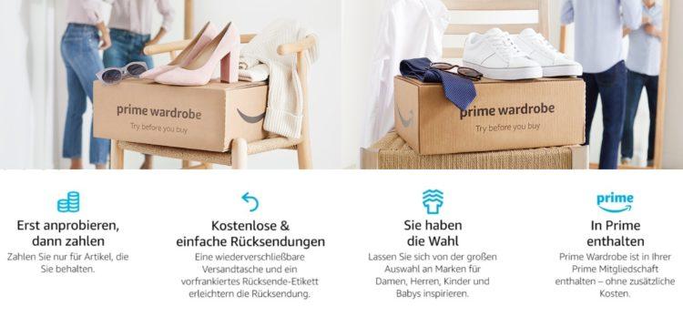 Prime Wardrobe Amazon