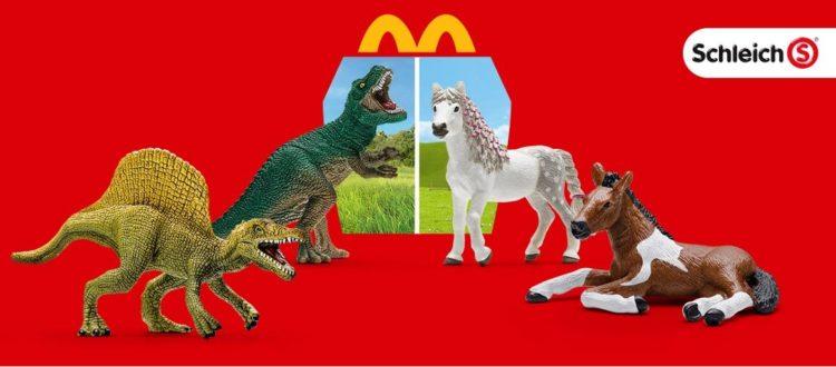 Mcdonalds Schleich Pferde Oder Dinos Im Happy Meal