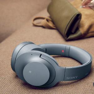 Sony-Kopfhörer-grau