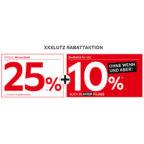 XXXLutz 25% + 10% Rabatt