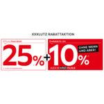XXXLutz: 25% Hausrabatt + 10% Extra auf Möbel, Matratzen und weiteres