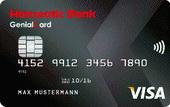 Kreditkarte der Hanseatic Bank