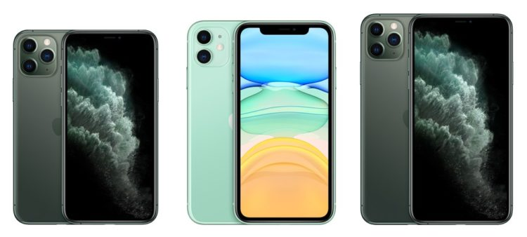 iPhone 11 pro vs 11 vs pro max