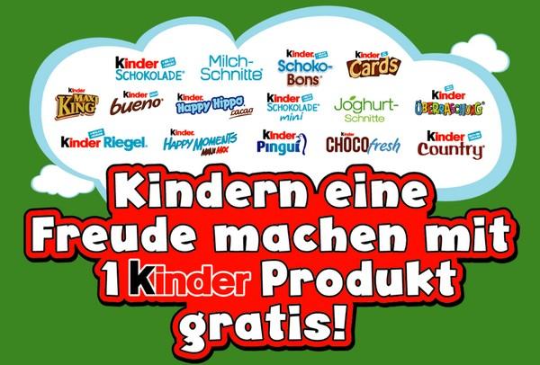 kinder-Cashback-Produkt