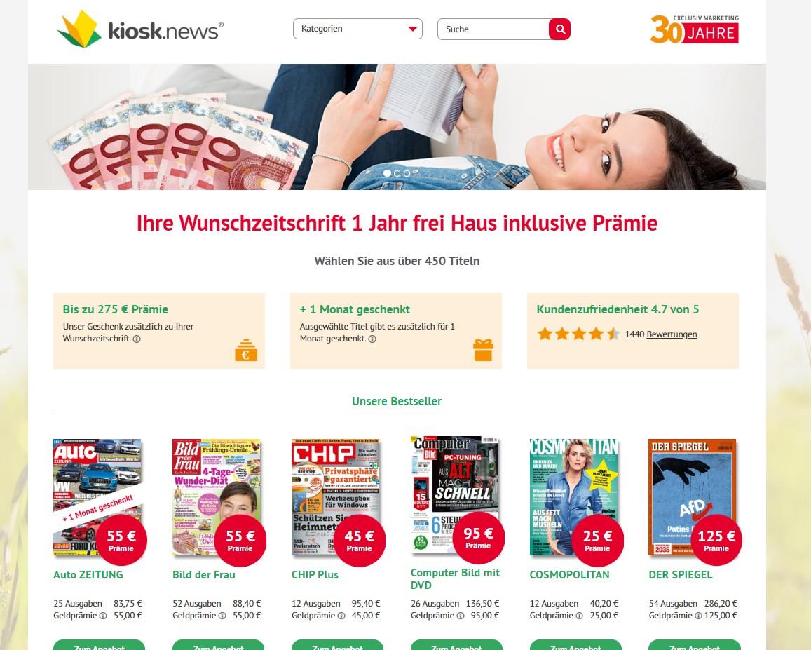 Gutschein Presseplus