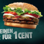 Burger King - Whopper für 0,01€ [BUNDESWEIT] *nur bis 24.09.*