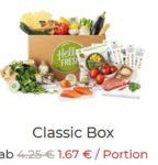 HelloFresh: 30€ Rabatt auf die 1. Kochbox dank Freunde werben