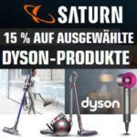 Saturn: 15% Rabatt auf Dyson-Produkte, z.B. DYSON V6 Trigger Handstaubsauger für 122€ (statt 184€)
