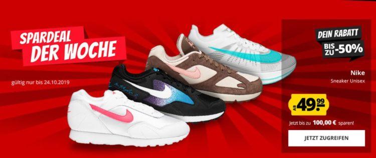 50% Rabatt auf ALLE Nike Damenschuhe im Nike Clearance Store